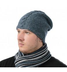 Šviesą atspindinti kepurė (mėlyna), prailginta