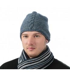 Šviesą atspindinti kepurė (mėlyna)