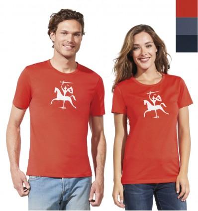 Marškinėliai su Vyčiu - atšvaitu, vyriški ir moteriški