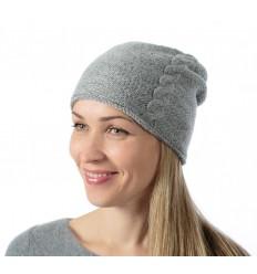 Šviesą atspindinti kepurė (pilka), prailginta, unisex