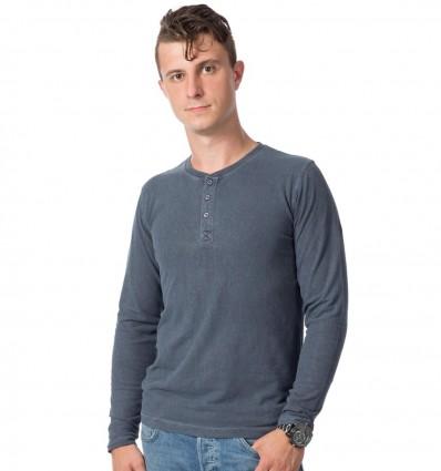 Hemp T-shirt, men's, Graphit color