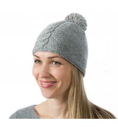 Šviesą atspindinti kepurė (pilka), unisex